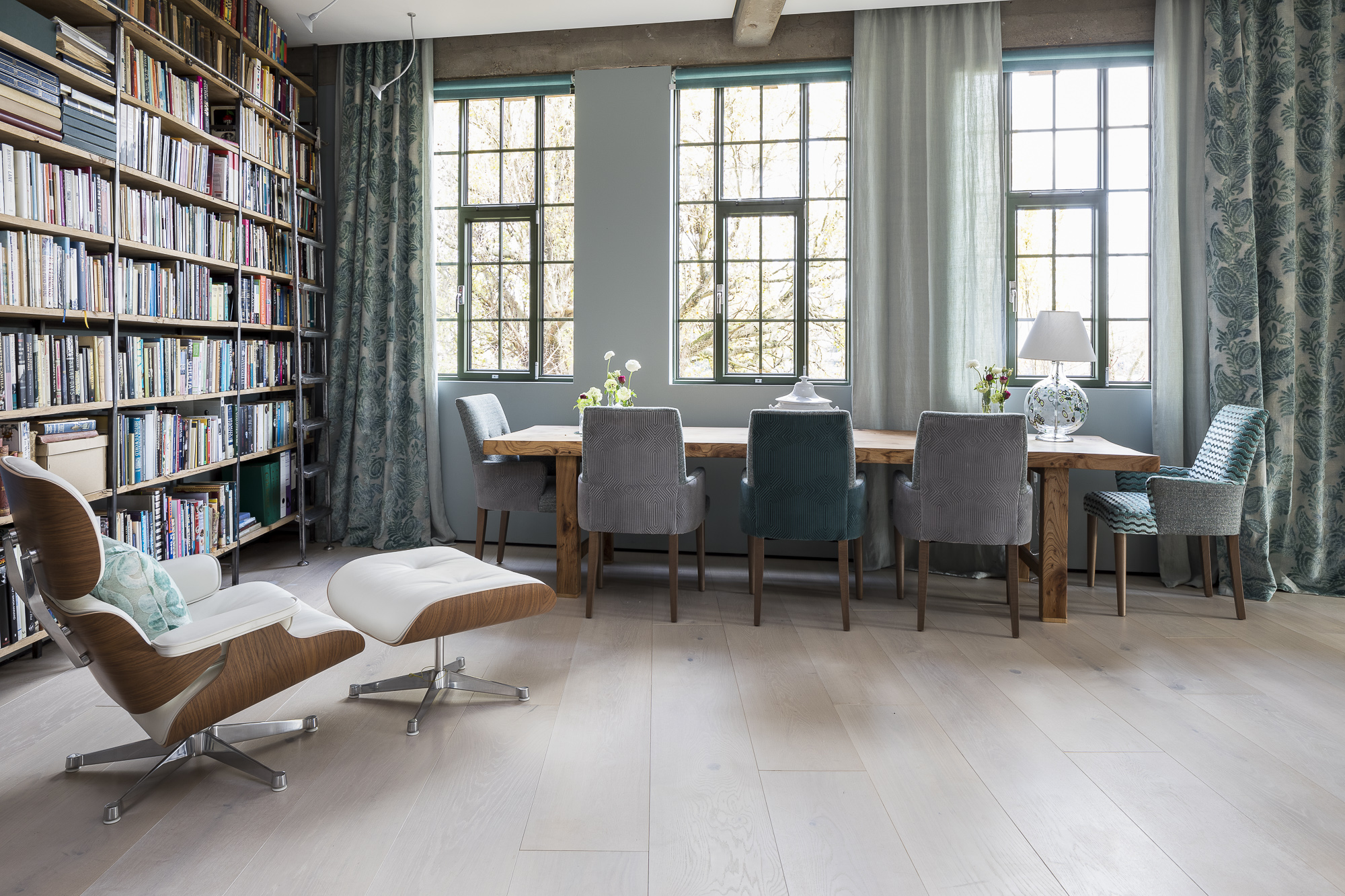 Nordic White flooring  – Barnes SW13 graphic