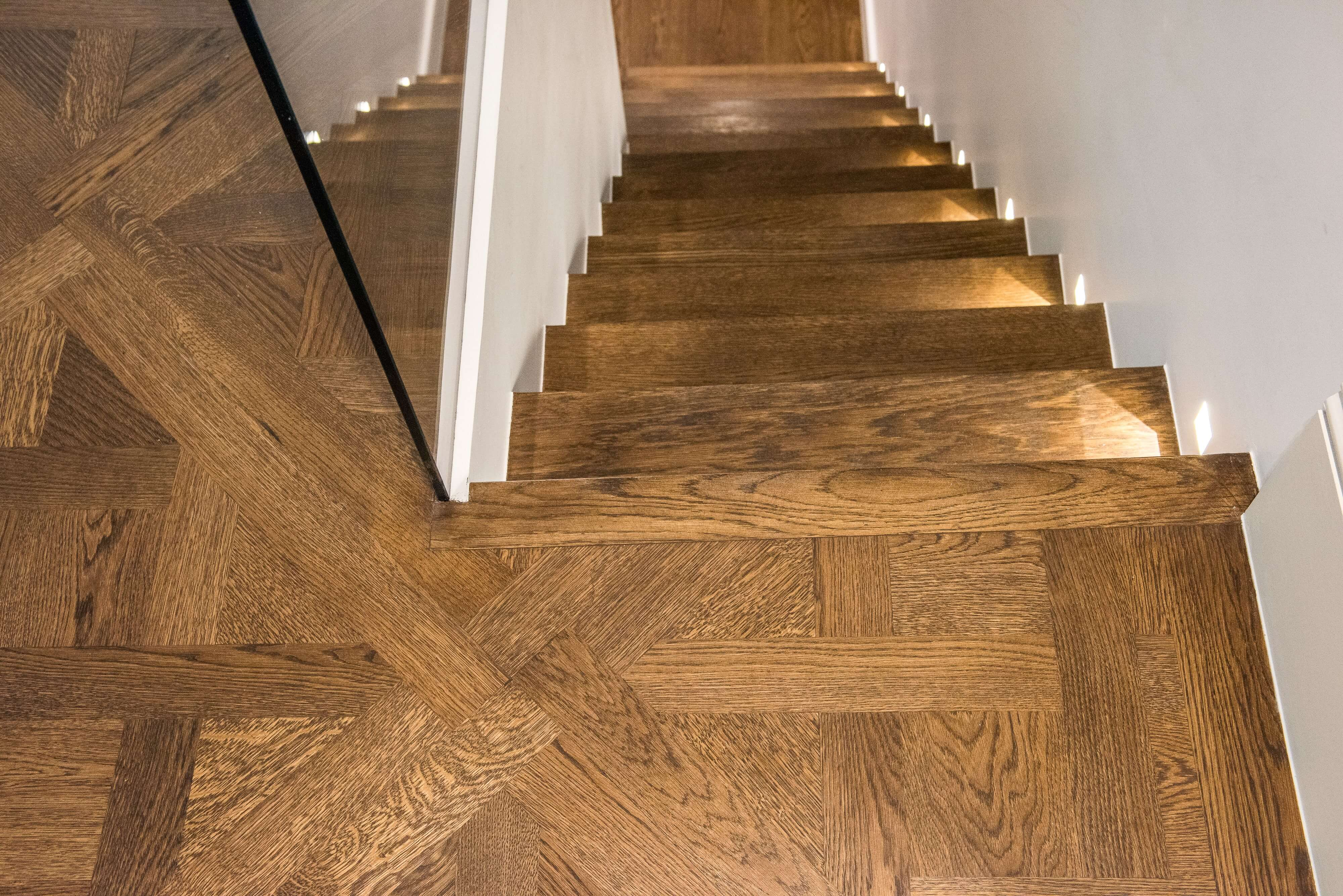 Versailles panels & 240mm prime French oak – Chelsea SW3 graphic